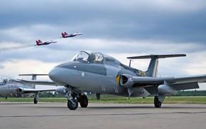 Wallpaper L-29, Delfin, Is the first Czechoslovak jet serial, Czechoslovak training aircraft, Czechoslovakia Aero Vodochody, Aero