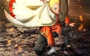 Picture Naruto, ninja, hokage, shinobi, Naruto Shippuden, jinchuuriki, nanadaime hokage, kanji, Indra, Boruto: Naruto the Next …