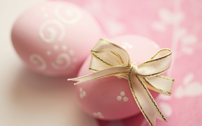 Wallpaper Easter, tape, pink, spring, Easter, eggs, decoration, Happy