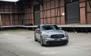 Picture Infiniti, Tuning, Gray, QX70