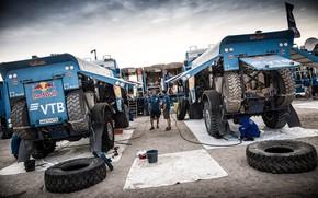 Picture Sand, Auto, Team, People, Truck, Master, Russia, Kamaz, Rally, Dakar, Dakar, Rally, KAMAZ, RedBull, Master, …