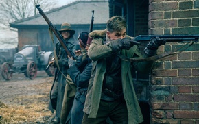 Picture cinema, gun, Wonder Woman, soldier, weapon, movie, shotgun, film, Chris Pine