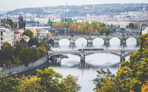 Wallpaper Prague, Prague, Czech Republic, Charles bridge, Czech Republic