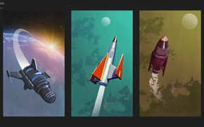 Picture planet, missiles, devices, sansar posters new, ASTROPORT