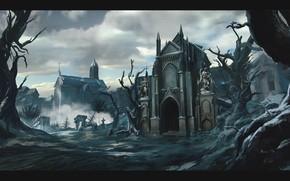Picture temple, desolation, The Church