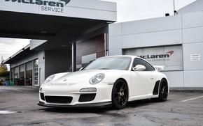 Picture Porsche, GT3, White