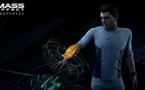 Picture game, Mass Effect, man, uniform, seifuku, Mass Effect: Andromeda