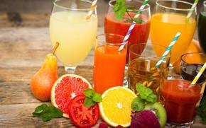 Picture Vegetables, Citrus, Juice, Fruit