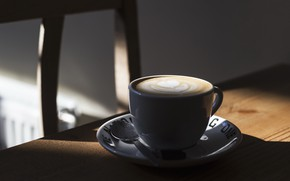 Picture light, coffee, Cup