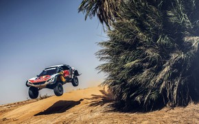 Picture Sand, Sport, Speed, Race, Peugeot, Red Bull, Rally, Rally, Sport, The front, RedBull, Flies, DKR, …