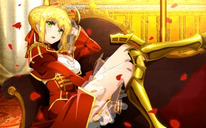 Picture girl, anime, art, Fate Grand order