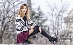 Wallpaper girl, model, Patricia Perez