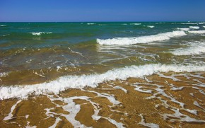 Picture sea, wave, summer