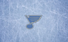 Picture ice, wing, note, NHL, NHL, St. Louis Blues, St. Louis Blues, hockey club