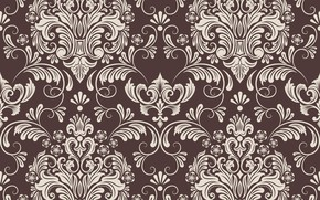Picture flowers, retro, background, Wallpaper, pattern, texture, vintage