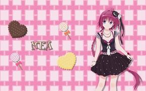 Picture hat, anime, tail, manga, japanese, bishojo, To Love RU, To Love-RU, Mea