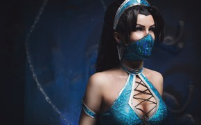 Picture mask, cosplay, Mortal Kombat
