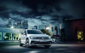 Wallpaper Volkswagen, Volkswagen, Tiguan, Sportline, Tiguan