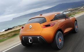 Picture road, concept, Renault, captur
