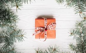 Picture holiday, gift, Christmas, New year, box, decor, gift, celebration, New year, xmas