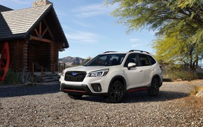 Picture Subaru, Sport, Forester, 2019
