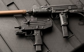 Wallpaper gun machine gun, submachine gun, weapon, Micro Uzi, Micro Uzi, Ultrasound, Uzi, weapons