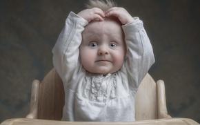 Wallpaper hair, boy, eyes, child, look