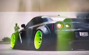Picture light, glare, GTR, Nissan, Liberty Walk Performance