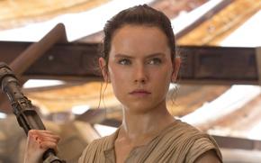 Wallpaper cinema, film, Daisy Ridley Rey, movie, Star Wars, Star Wars: Episode VII: The Force Awakens