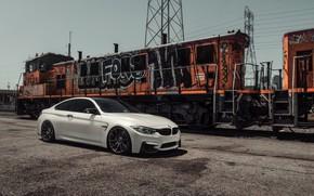 Picture BMW, White, Train, F82