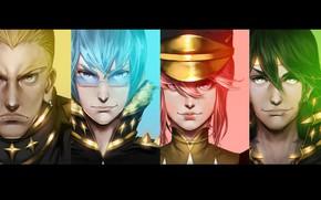 Picture anime, man, japanese, uniform, seifuku, Kill la Kill