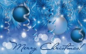 Picture balls, merry Christmas, rojdestvo