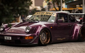 Picture 911, wide body, porschce, Porsche 964