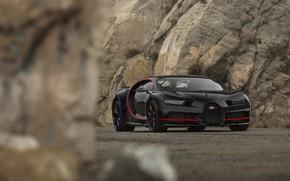 Picture Bugatti, Black, RED, V16, Stones, VAG, Chiron