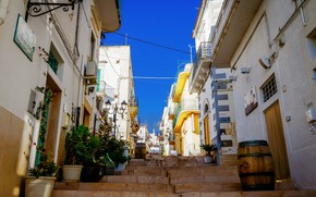 Picture street, home, Italy, stage, Apulia, Mattinata