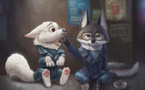 Picture the situation, art, children's, Wee Yee Chong, Zootopia Fan Art