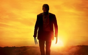 Wallpaper cinema, Wolverine, Hugh Jackman, X-Men, Logan, man, Marvel, movie, film