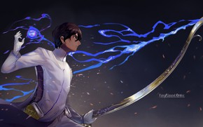 Picture anime, bow, art, guy, Archer, fate/grand order, Archer