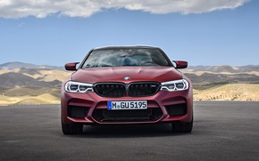 Picture front view, 2018, BMW M5, First Edition