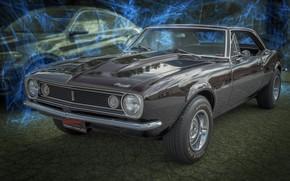 Wallpaper design, background, Chevrolet, Camaro