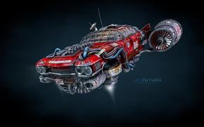 Picture camera, Jet Futura, Flying Eldorado concept
