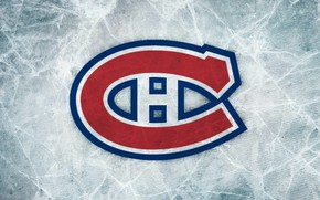 Picture ice, Montreal, emblem, NHL, NHL, Montreal Canadiens, hockey club, Montreal Canadiens