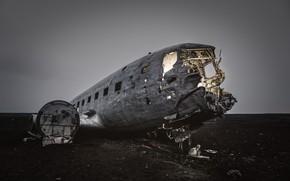 Picture background, the plane, scrap