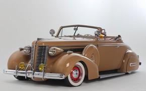 Wallpaper Custom, 1938, Buick, Lowrider, Convertible
