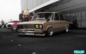 Picture style, tuning, classic, Lada, vaz, VAZ, lada, Lada, 2106, six, stance, raceism 2017
