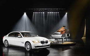 Picture BMW, piano, 7 Series, Individual, Steinway & Sons