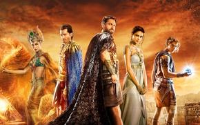 Picture cinema, woman, man, movie, film, egypt, god, Gods of Egypt, gods, by sachso74