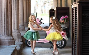 Picture girls, fashionista, elegant