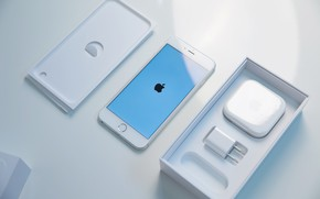 Picture Apple, iPhone, White, Cupertino