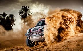 Picture Sand, Mini, Sport, Desert, Speed, Race, Skid, Rally, Dakar, Dakar, SUV, Rally, X-Raid Team, MINI …